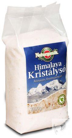 Naturganik Himalaya só, finom rózsaszín 1 kg
