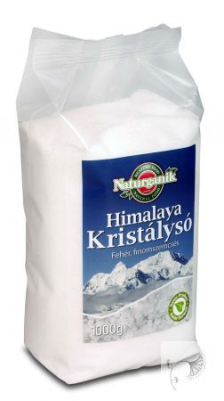 Naturganik Himalaya só, finom fehér 1 kg