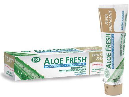 Aloe Fresh® homeopátia-kompatibilis fogfehérítő fogkrém 100ml