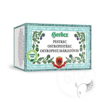 Herbex máriatövis-termés tea 20x3g 60 g