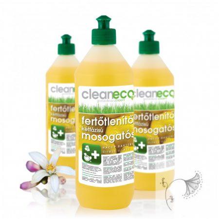 Cleaneco Fertőtlenítő hatású mosogatószer 1l