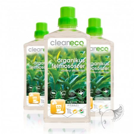 Cleaneco Organikus Felmosószer green tea herbal illattal 1 liter