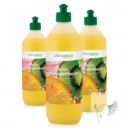 Kézi Mosogatószer koncentrátum - mangó & papaya illattal 1L - újrahasznosítható csomagolásban