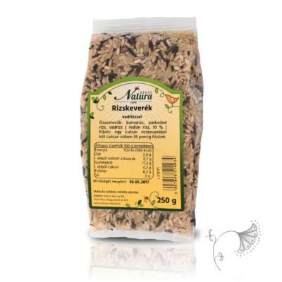 Natura rizskeverék vadrizzsel 500 g