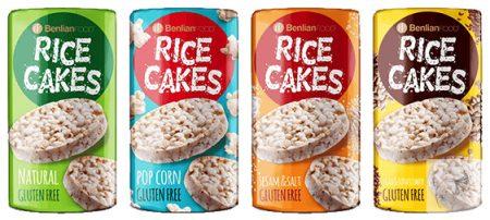 Rice Cakes Puffasztott barna rizs szelet