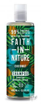 Faith in Nature Bio Kókusz sampon – 400ml