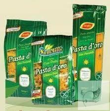 Pasta D'oro gluténmentes fodros kocka/ lasagne 500 g