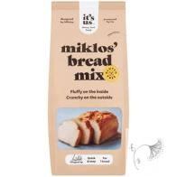 Its us miklos gluténmentes fehérkenyér lisztkeverék 500 g