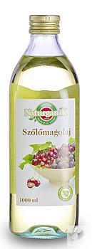 Naturganik szőlőmagolaj 1 liter (melegen sajtolt)