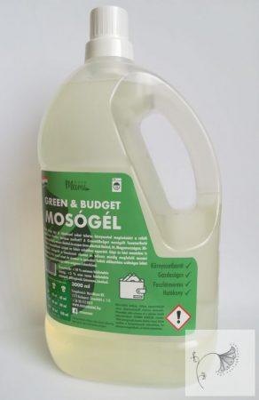 MM Green&Budget mosógél 3 l