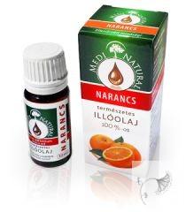 Narancs 100 %-os illóolaj 10 ml