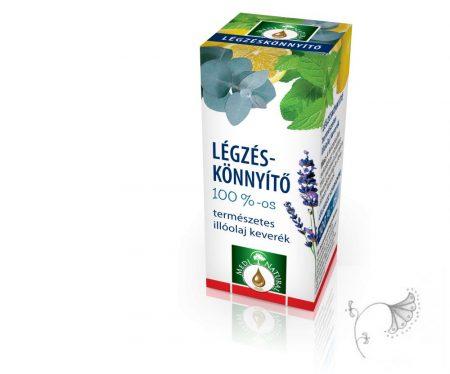 Légzéskönnyítő - természetes illóolaj keverék 10 ml