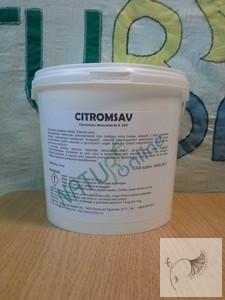 Citromsav 2,4 kg vödörben