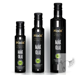 Pödör Bio Mákolaj  500 ml