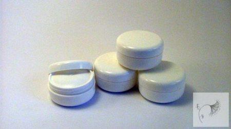 Fehér tégely 30 ml