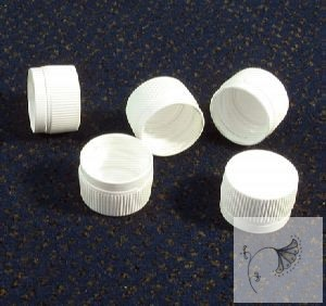 18mm műanyag kupak garanciazáras (fehér)