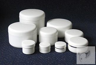 100 ml fehér kozmetikai tégely