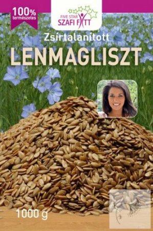 Szafi Reform zsírtalanított lenmagliszt 1 kg